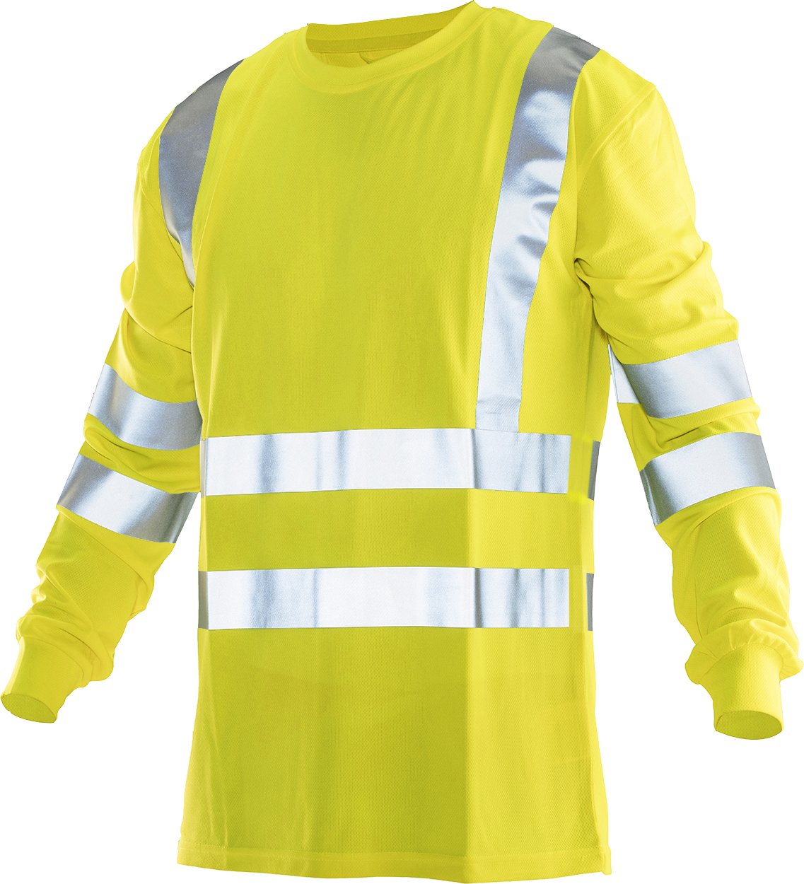 T-shirt met lange mouw high-vis