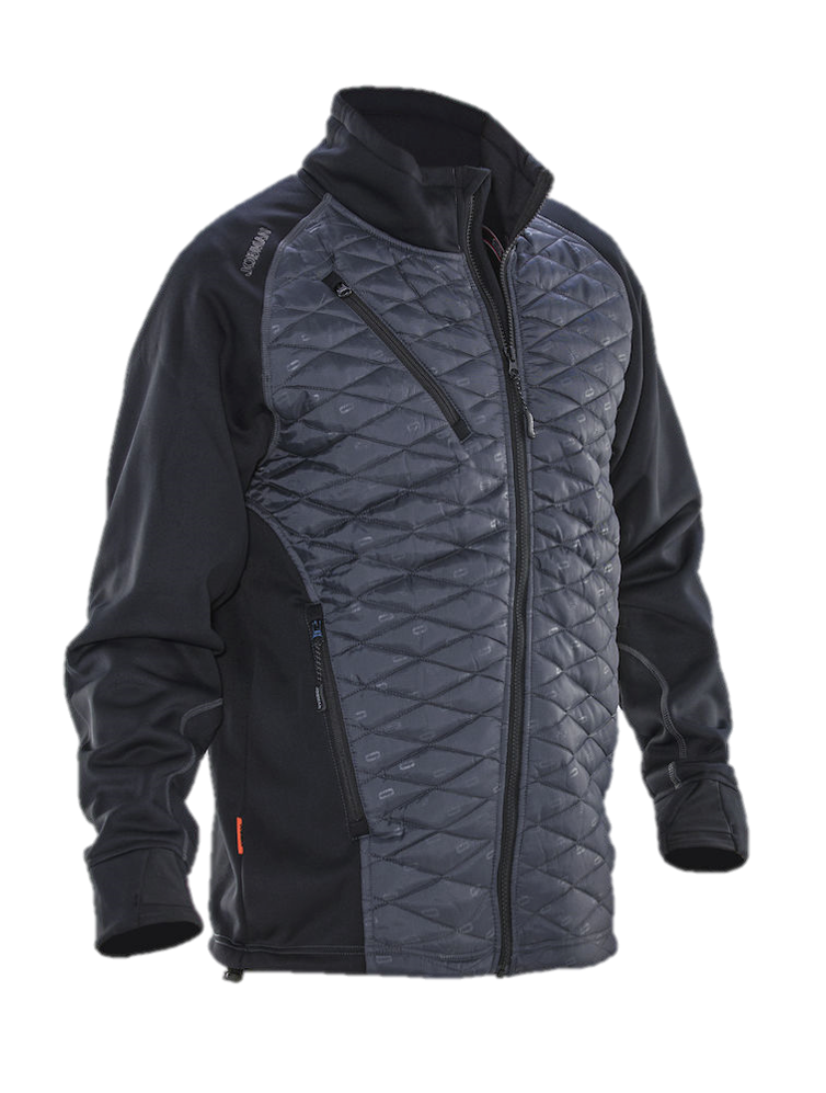 Padded isolation jacket