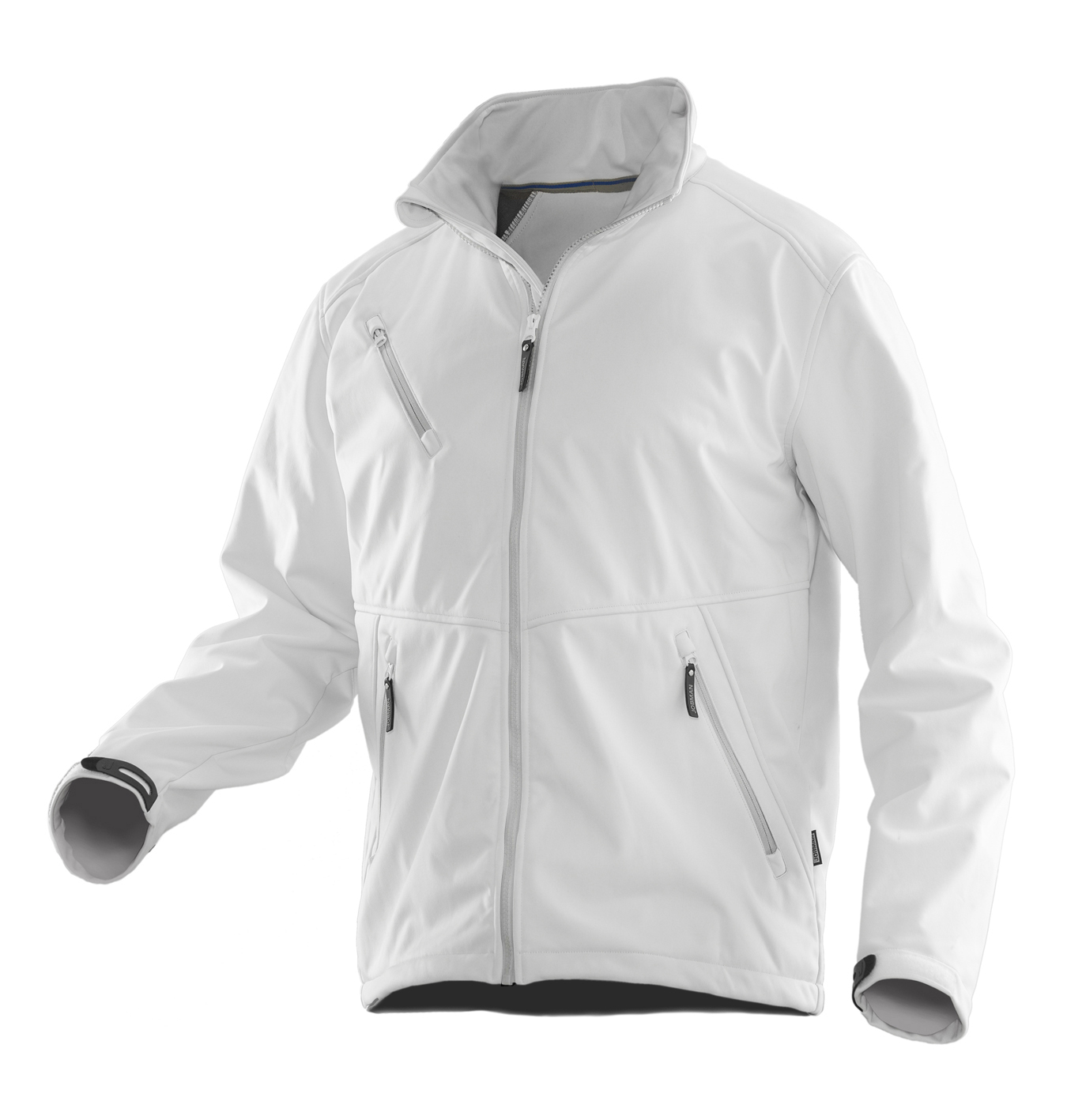 White line softshell jacket