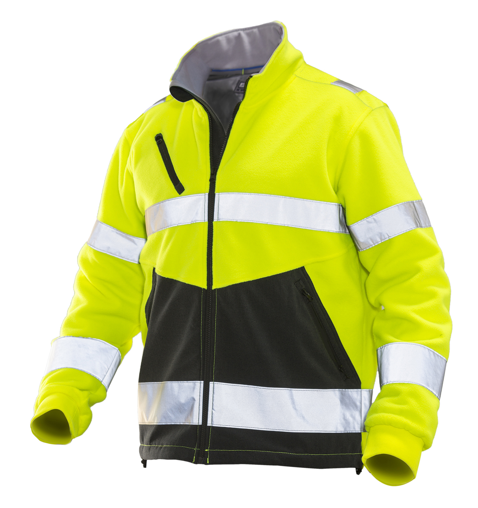 High visibility polar jacket klass 3
