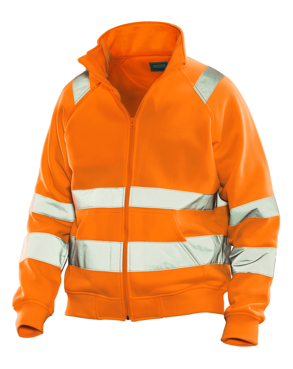 High visibility sweatshirt jacket